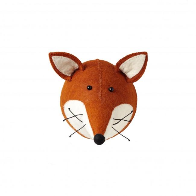Fiona Walker England, Fox Felt Animal Head