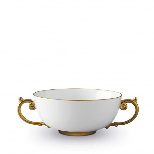 Aegean Soup Bowl, Gold