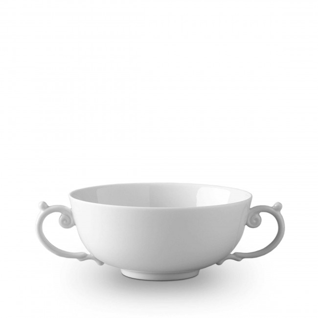 Aegean Soup Bowl, White
