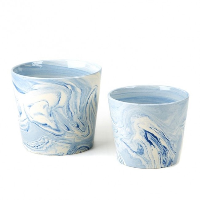 Blue Terre Melee Canister, Large