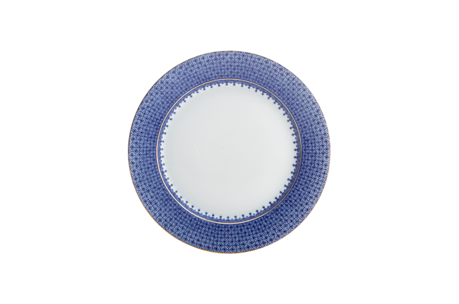 Mottahedeh, Blue Lace Bread and Butter Plate