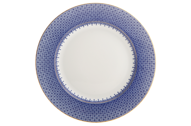Mottahedeh, Blue Lace Dinner Plate