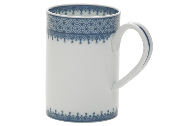 Mottahedeh, Blue Lace Mug