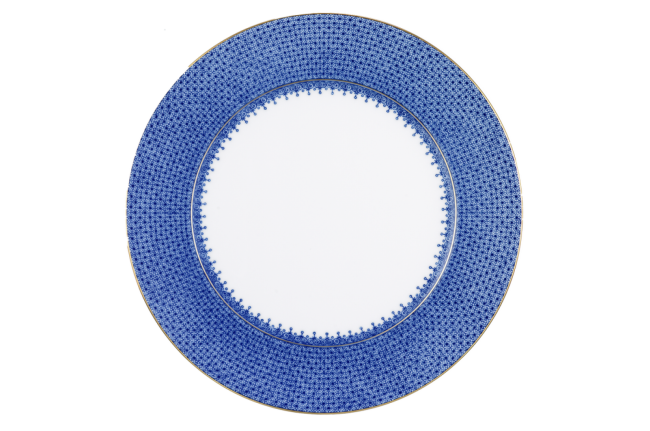 Mottahedeh, Blue Lace Service Plate