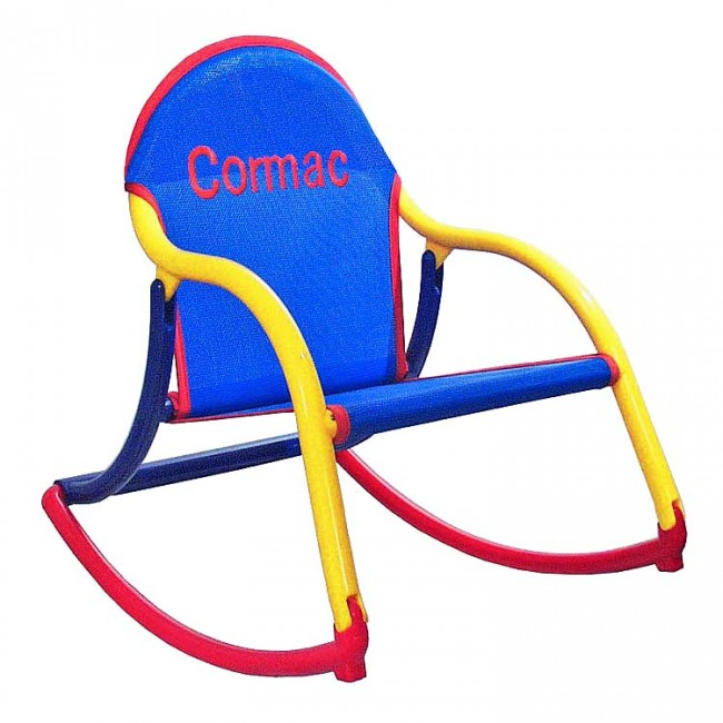 Blue Mesh, Rocking Chair