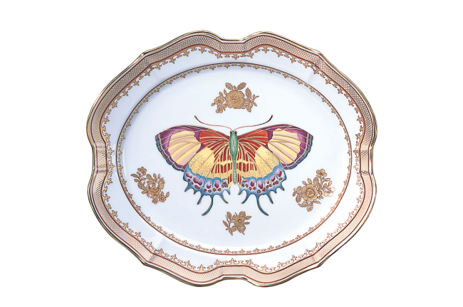 Mottahedeh, Butterfly Platter Small