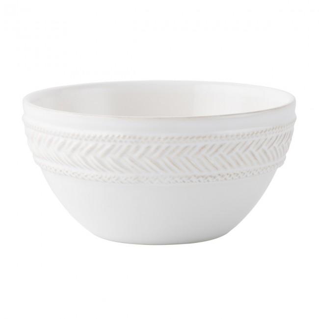 Juliska, Le Panier Whitewash Cereal/Ice Cream Bowl