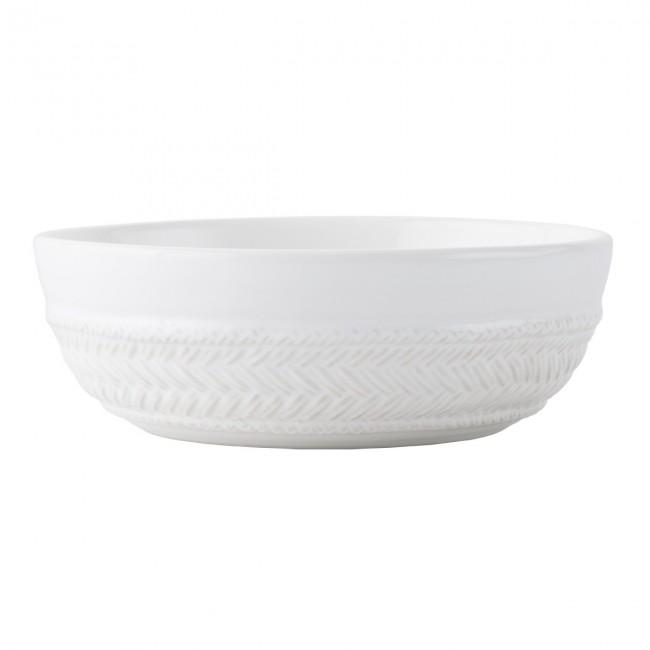 Juliska, Le Panier Whitewash Coupe Pasta/Soup Bowl