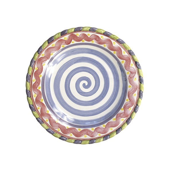 MacKenzie-Childs, Piccadilly Dinner Plate
