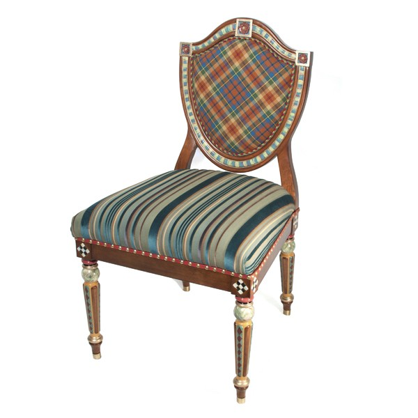 Highland Shield Back Chair