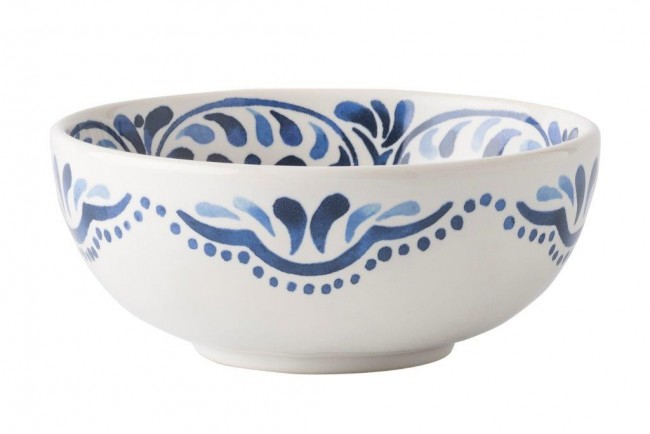 Juliska, Iberian Journey Indigo Cereal/Ice Cream Bowl