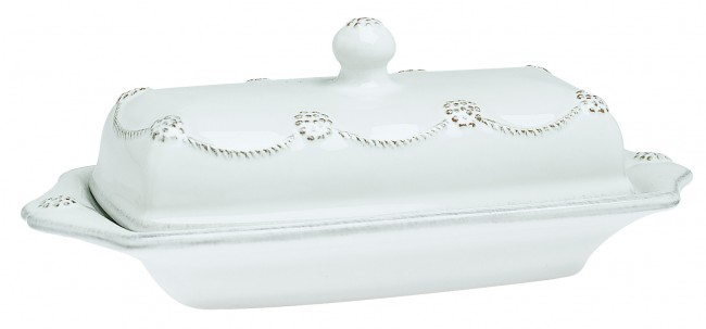 Berry and Thread Butter Dish