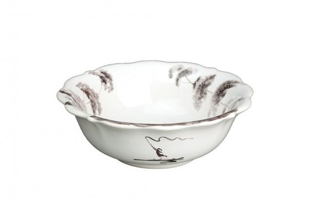 Flint Scallop Berry Bowl