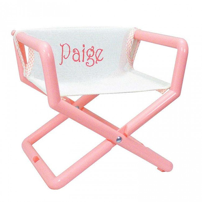 Pastel Mesh, Junior Director Chair