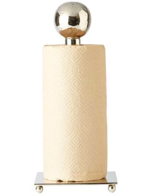 Posada Paper Towel Holder, Nickel
