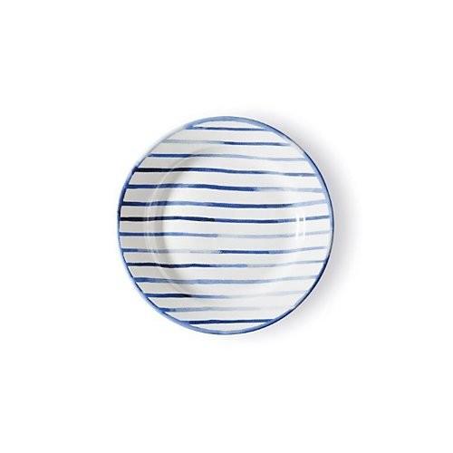 Ralph Lauren, Côte d'Azur Striped Salad Plate