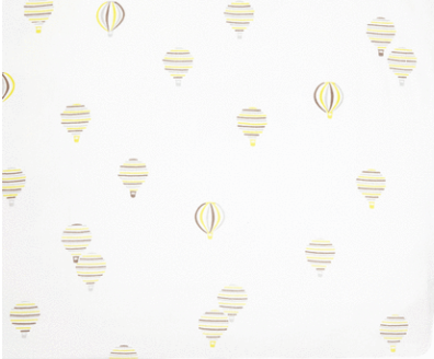 Hot Air Balloon Crib Sheet