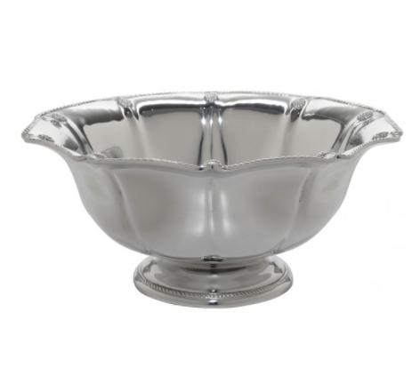 Juliska, Berry & Thread Metalware Footed Bowl
