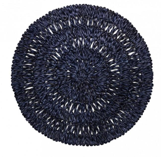 Juliska, Straw Loop Navy Blue Placemat
