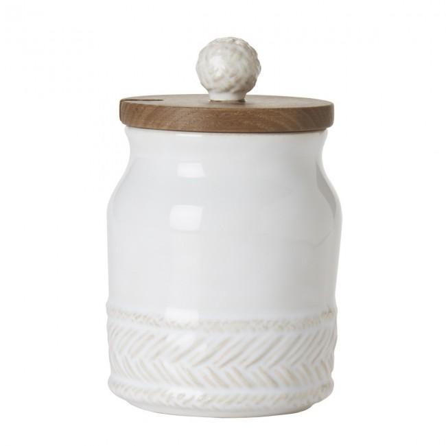 Juliska, Le Panier Whitewash Sugar Pot