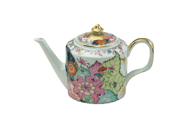 Mottahedeh, Tobacco Leaf Teapot - Dinnerware - Table + Kitchen