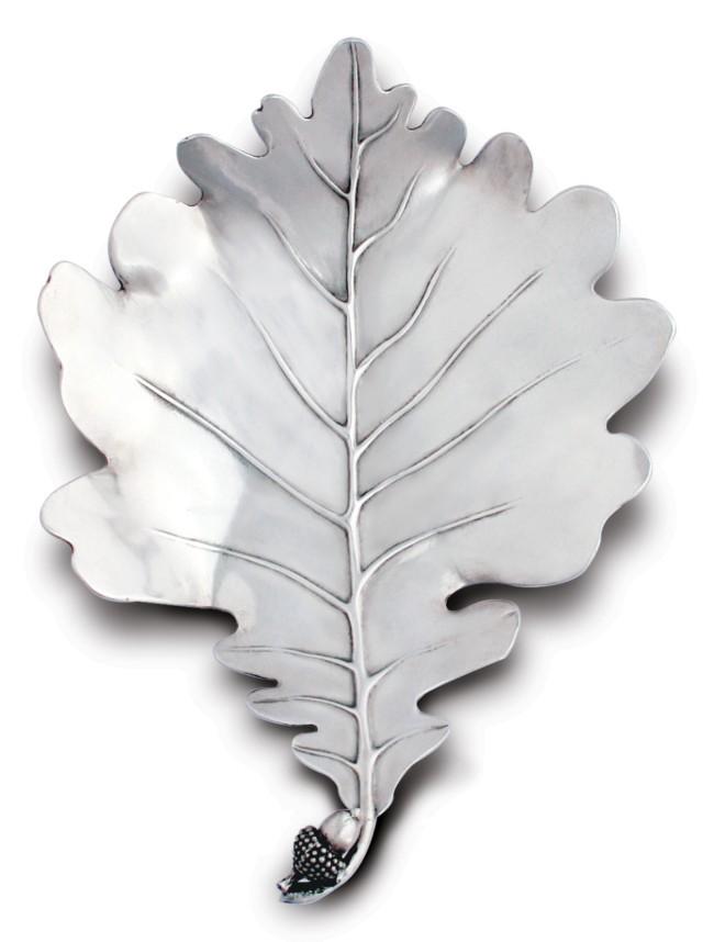 White Oak Leaf Plate