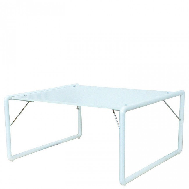 Folding Children's Table, White