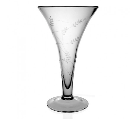 Wisteria Trumpet Vase, Large