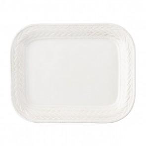"""Juliska, Le Panier Whitewash 11.5"""" Platter"""