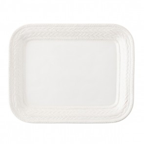 """Juliska, Le Panier Whitewash 14.5"""" Platter"""
