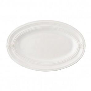 "Acanthus Whitewash 16"" Platter"