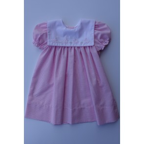 Auraluz, Pink Gingham Bunny Dress