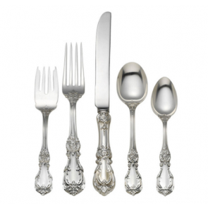 Reed and Barton, Burgundy Sterling 5-piece Dinner Setting