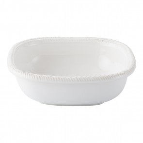 "Juliska, Le Panier Whitewash 9"" Square Serving Bowl"