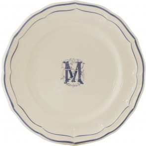 Filet Bleu Dessert Plates, set of 6