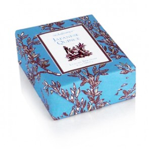 Japanese Quince Classic Toile Paper-Wrapped Bar Soap