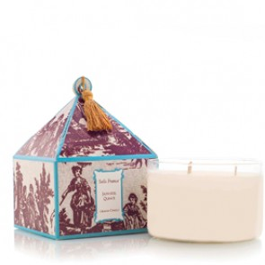 Japanese Quince Classic Toile Three-Wick Candle