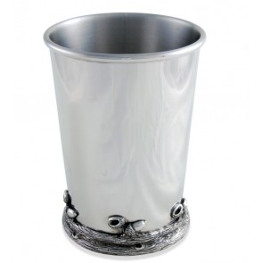 Pewter Acorn and Oak Leaf Julep Cup