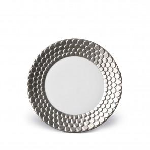 Aegean Dessert Plate, Platinum