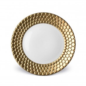 Aegean Dinner Plate, Gold