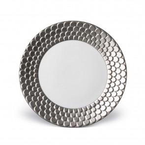 Aegean Dinner Plate, Platinum