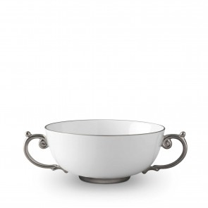 Aegean Soup Bowl, Platinum