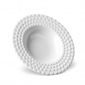 Aegean Soup Plate, White
