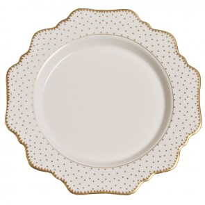 Anna Weatherley, Simply Anna Antique Polka Dot Bread and Butter Plate