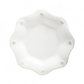 Berry and Thread Scallop Tea Plate