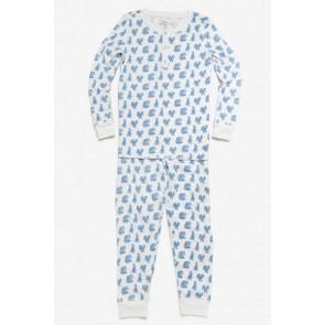 Roberta Roller Rabbit, Bagh Pajama Set - Blue