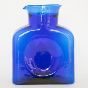 Blenko Water Bottle, Cobalt