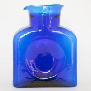 Blenko Water Bottle, Cobalt