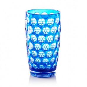 Mario Luca Giusti Lente Highball Glass, Blue