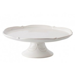 "Juliska, Berry & Thread Whitewash 14"" Cake Stand"